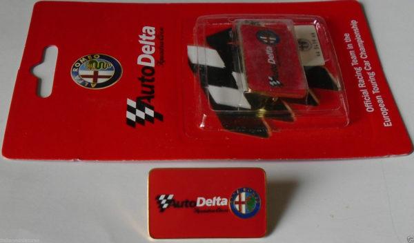 Alfa Romeo AutoDelta kitűző