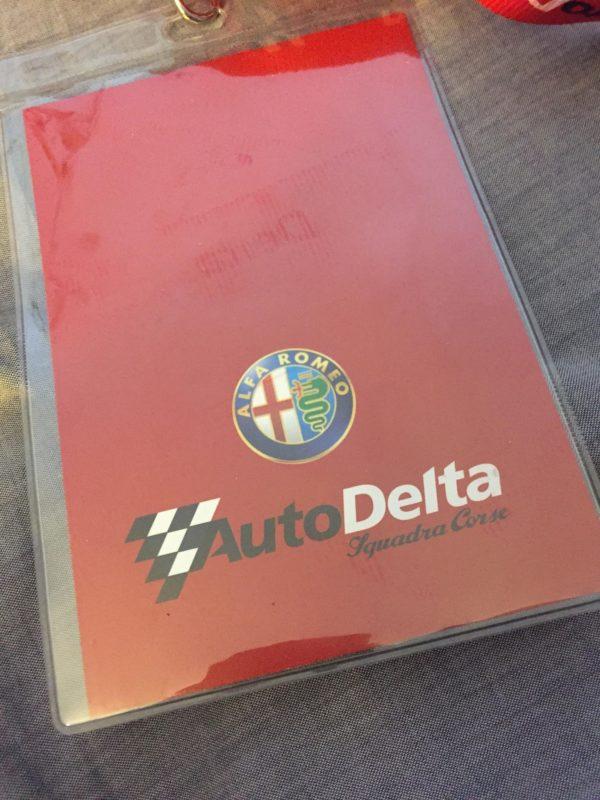 Alfa Romeo AutoDelta nyakbaakasztó